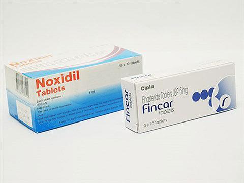 フィンカー5mg30錠+ノキシジル5mg100錠(Fincar+Noxidil)