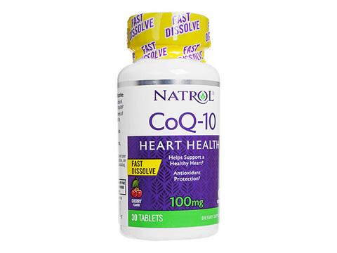 Natrol/コエンザイムQ10ハートヘルスファストディゾルブ(CoQ-10 HeartHealth FastDissolve) 100mg