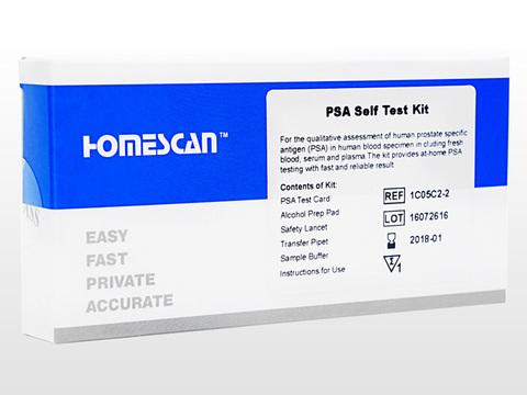 前立腺検査キット(PSA Self Test Kit)