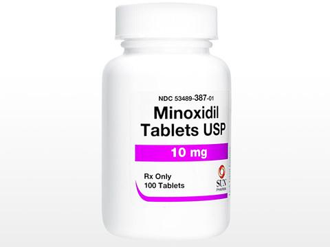 ミノキシジルタブレット(Minoxidil Tablets USP) 10mg