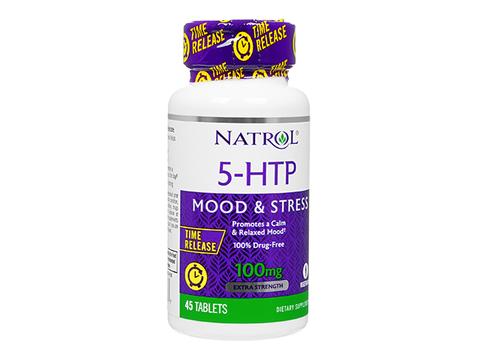 Natrol/5-ヒドロキシトリプトファンタイムリリース(5-HTP_TimeRelease) 100mg