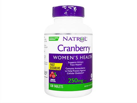 Natrol/クランベリーファストディゾルブ(Cranberry FastDissolve) 250mg
