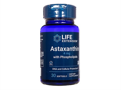 LE/アスタキサンチンwithリン脂質(Astaxanthin 4mg with Phospholipids)