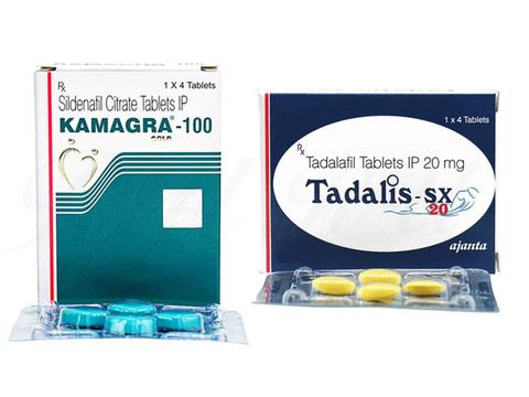 カマグラゴールド 100mg+タダリスSX 20mg(KamagraGold+TadalisSX)