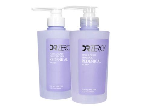 DR.Zero/リデニカル・ヘア&スカルプシャンプー+コンディショナー・女性用(Redenical Hair & Scalp Shampoo + Conditioner)