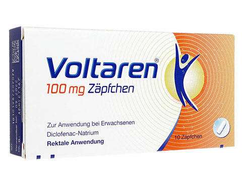 ボルタレン座薬(Voltaren Suppositories) 100mg