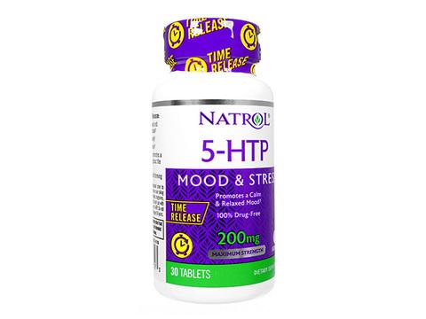 Natrol/5-ヒドロキシトリプトファンタイムリリース(5-HTP_TimeRelease) 200mg