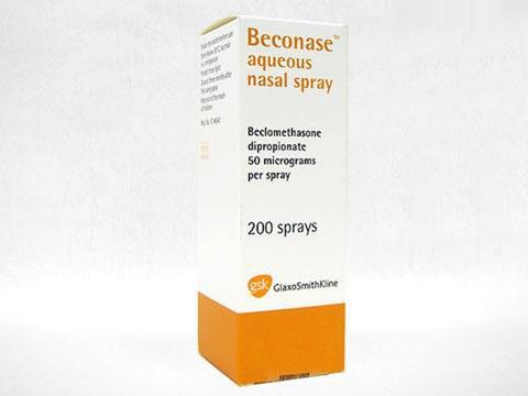 ベコナーゼエイクウェスネイゾルスプレー(Beconase Aqueous Nasal Spray)