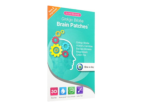 ギンコビローバブレインパッチ(Ginkgo Biloba Brain Patches)