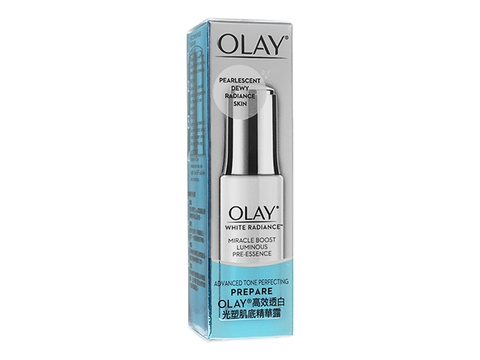 Olay/ホワイトラディアンスミラクルブーストルミナスプレエッセンス(White Radiance Miracle Boost Luminous Pre-Essence)