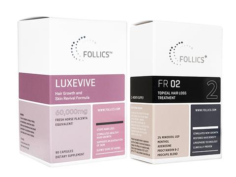 FR02ローション+ルグゼバイブ(Follics FR02 60ml+Luxevive)