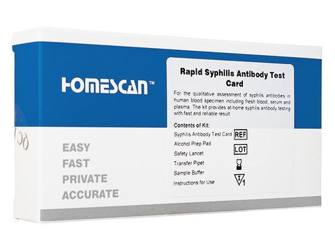 梅毒(性病)セルフテストカード(Rapid Syphilis Antibody Test Card)