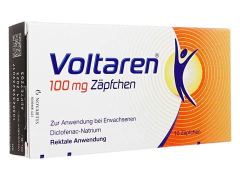 ボルタレン座薬(Voltaren Suppositories) 100mg