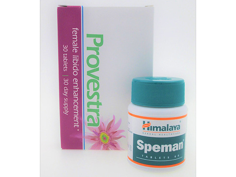 スペマン2本+プロベストラ1箱(Speman+Provestra)