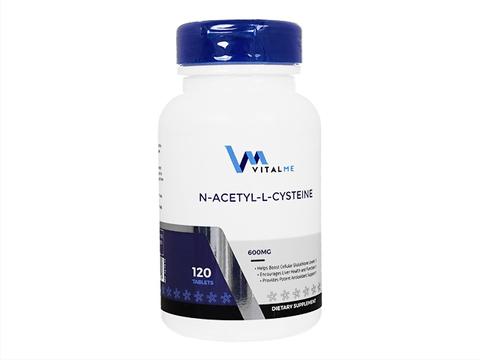 VitalMe/NアセチルLシステイン(N-Acetyl-L-Cysteine) 600mg