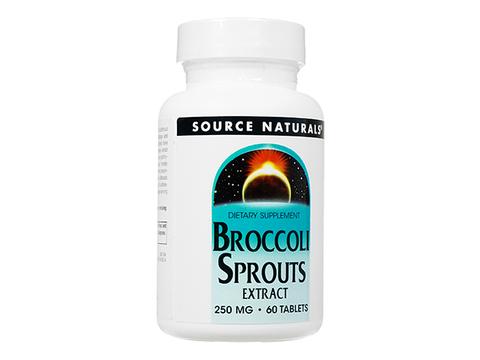 ソースナチュラルズブロッコリースプラウツ(Source Naturals Broccoli Sprouts) 250mg