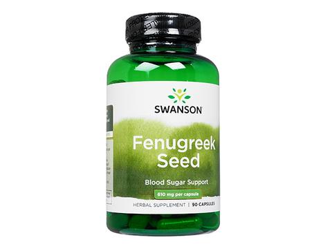 Swanson/フェヌグリークシード(Fenugreek Seed) 610mg