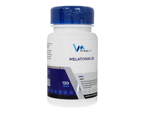 VitalMe/メラトニン(Melatonin) 20mg