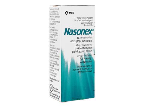 ナゾネックス点鼻液(Nasonex) 50mcg