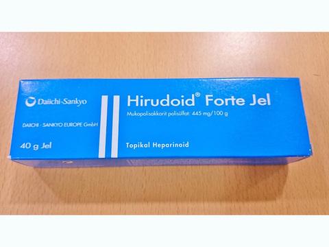 ヒルドイドフォルテジェル(Hirudoid Forte Gel) 0.445% 40g