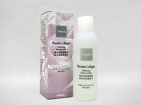 Yukeido/極品プラセンタコラーゲン美顔化粧水(Placenta Collagen Whitening Beauty Lotion)