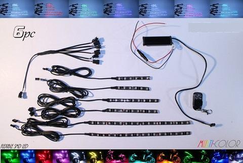 7色に光るLEDキット リモコン付