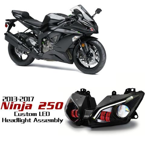 Ninja250/300 HIDプロジェクターキット Ver.2