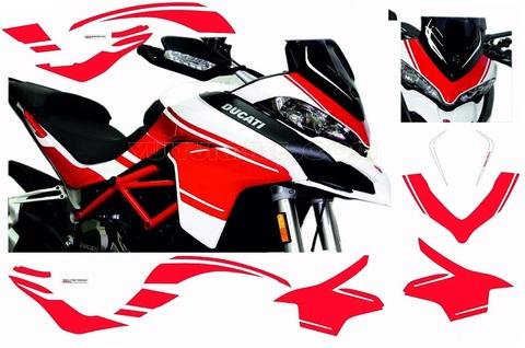 ムルティストラーダ 1200 カスタムグラフィックキット