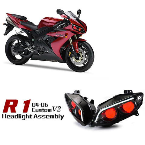 YZF-R1 04-06 HIDプロジェクターキット Ver.2