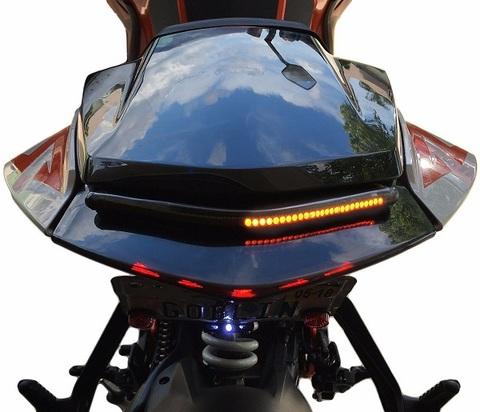 KTM 1290 Super Duke R LED ステルスウインカーライトバー