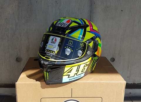 AGV Pista GP R ソーレルナ V.Rossi ロッシ