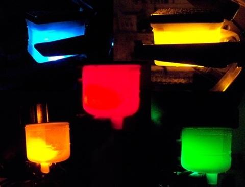 LEDライトアップ ブレーキリザーバータンク