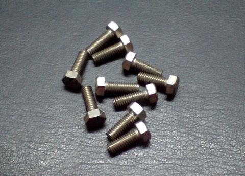 ステンレス製 5mm.×14 ピッチ0.9 ビス(10個セット)(E)