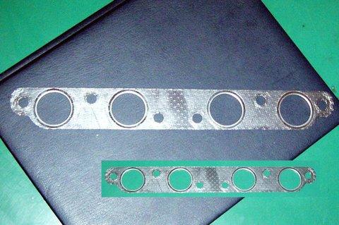 S600 エキゾーストマニホールドガスケット(板状:当店オリジナル品)(C)