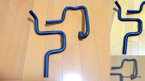 ホンダZ(旧)用ヒーターホース