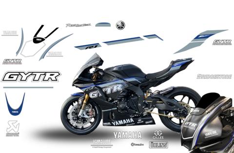 YZF-R1 SBK GYTR 2020 グラフィックステッカー