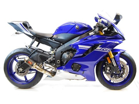 Competition Werkes YZF-R6 2017 D-CATマフラー V2