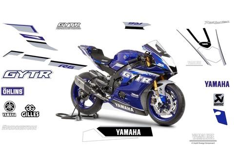YZF-R6 GYTR 2022 グラフィックステッカー