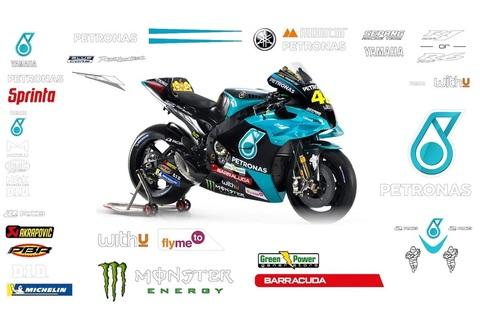 ペトロナスヤマハ MotoGP 2021 グラフィックステッカー