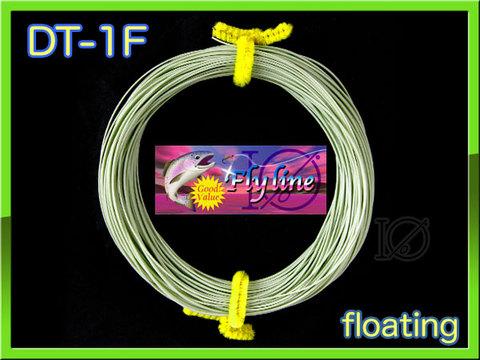 【イオ】フライライン DT-1F moss green Fly line フローティング