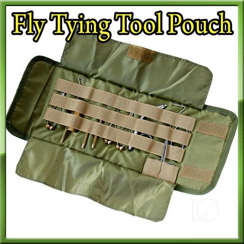 タイイングツール用 ポーチ Fly Tying Tool Pouch 収納ケース
