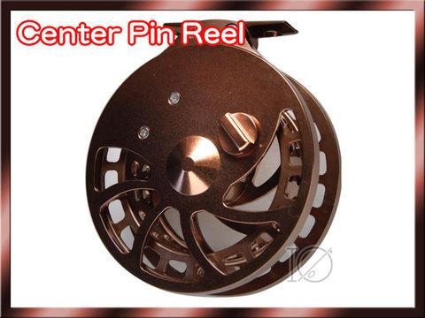 センターピンリール ブロンズカラー Center pin Reel