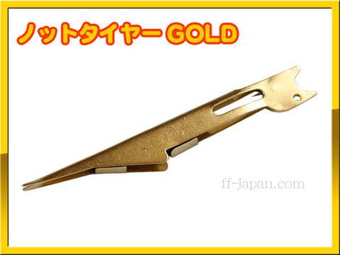 便利グッズ ノットタイヤー GOLD ネイルノットを簡単に ! !