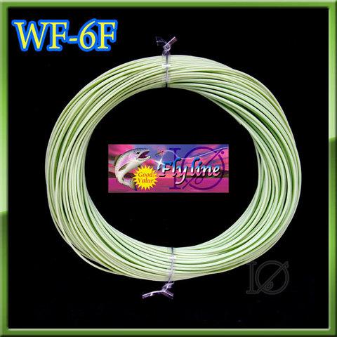 【イオ】 フライライン WF-6F moss green フローティング Fly Line モスグリーン
