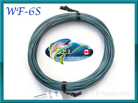 【イオ】フライライン WF-6S Dark Green fast sink CL Made in Canada