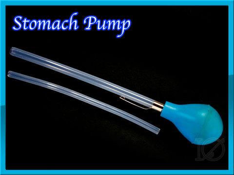 ストマックポンプ stomach pump 魚の胃の内容物を調べる為の道具です