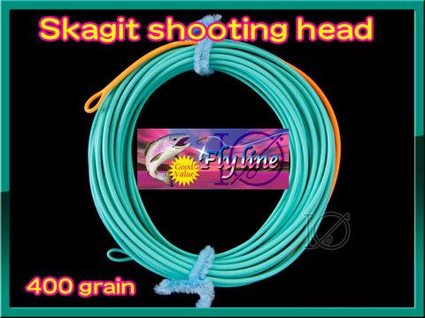 【イオ】スカジット シューティングヘッド Skagit 400 grain