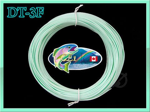 【イオ】フライライン DT-3F pale mint フローティング CL カナダ製