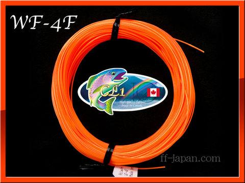 【イオ】フライライン WF-4F Orange フローティング CL