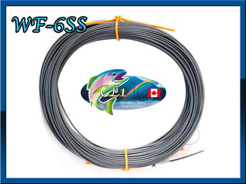 【イオ】フライライン WF-6SS Gray Super sink CL Made in Canada